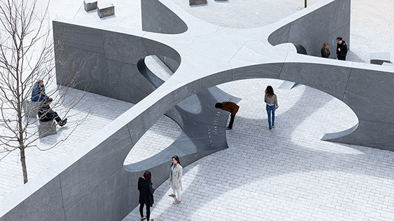 Höweler + Yoon: Collier Memorial, 2015  Photo credit: ©Iwan Baan