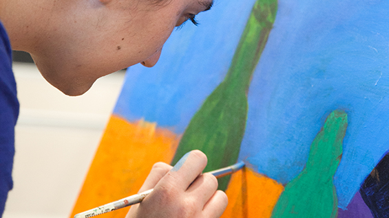Acrylic Painting Class in New Yok - A Weekend Workshop