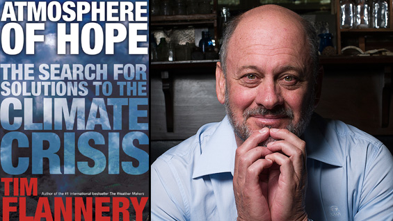 Tim Flannery. Photo by Damien Pleming