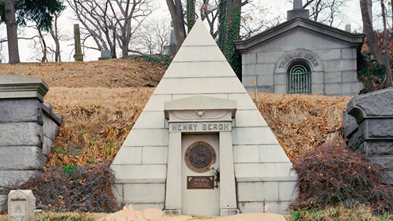 The Foote Crypt at Green-Wood Cemetery