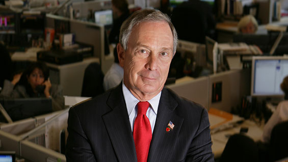 Mayor Michael R. Bloomberg.  Photo courtesy the Office of the Mayor.