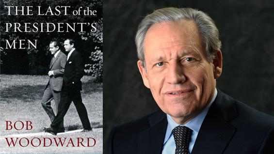 Photo of Bob Woodward by Richard Howard