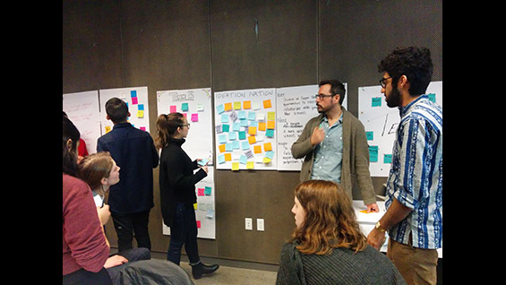 Faculty and students formed teams to find solutions for preventing isolation on campus