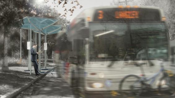 Teddy Kofman's winning bus shelter design