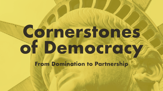 Cornerstones of Democracy poster