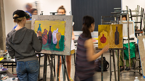 Students at Cooper Union's Continuing Education program