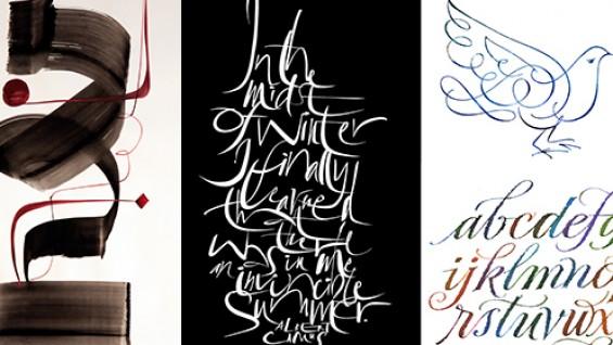John Stevens lettering samples