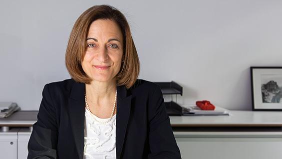 Dr. Teresa Dahlberg, Dean of the Albert Nerken School of Engineering. Photo by Joao Enxuto
