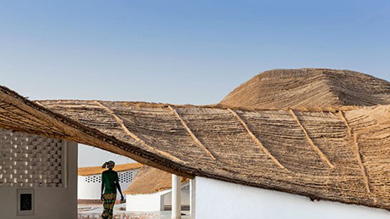 Cultural Center in Senegal. Photograph by Iwan Baan.