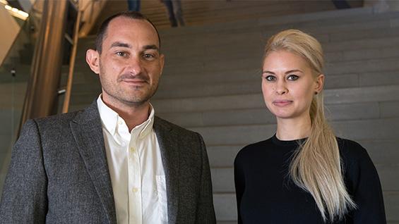 Drs. Nicholas D'Avella & Allison Leigh. Photos by Joao Enxuto/Cooper Union