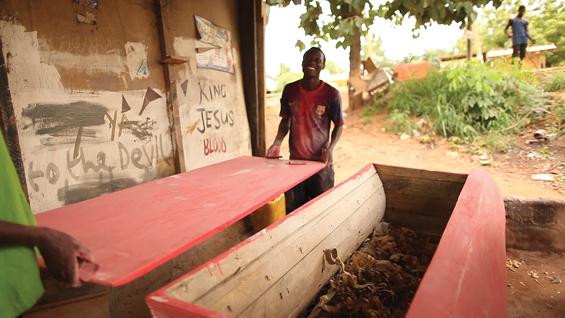 Alyssa Davis -- Ghana: Documenting Craft