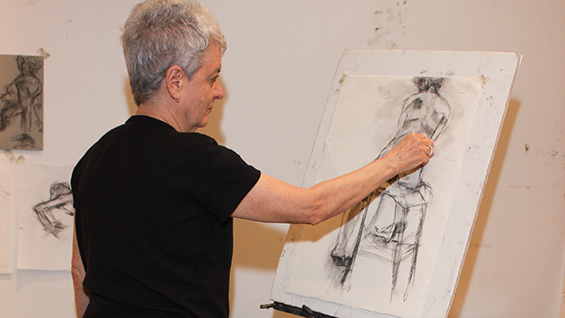 Intermedia Drawing Class NYC