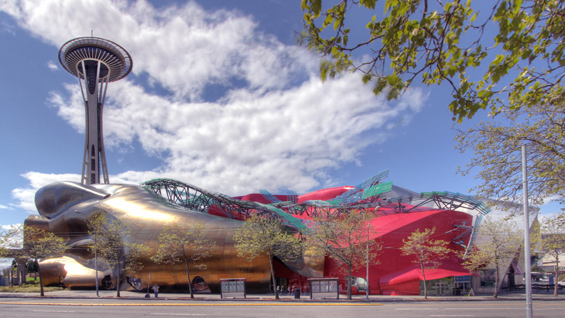 The Experience Music Project building