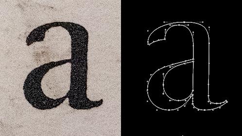 Fournier letter 'a'