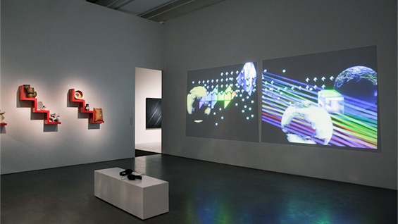 Installation view of 'Free,' a show curated by Laura Cornell. Photography by Benoit Pailley