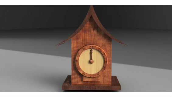 Front side of the Cuckoo Clock