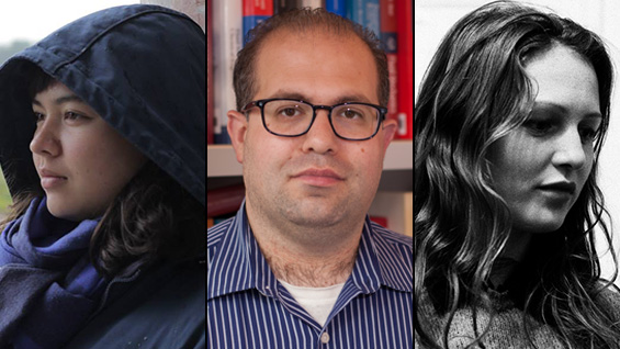 Amanda Machnik A'15, Daniel Lepek ChE'04 and Jasmine Stein A'13: 2015 Fulbright grant recipients