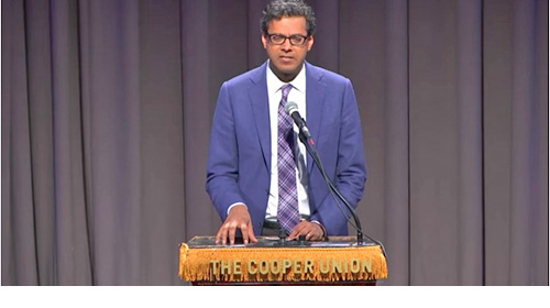 Dr. Atul Gawande in The Great Hall