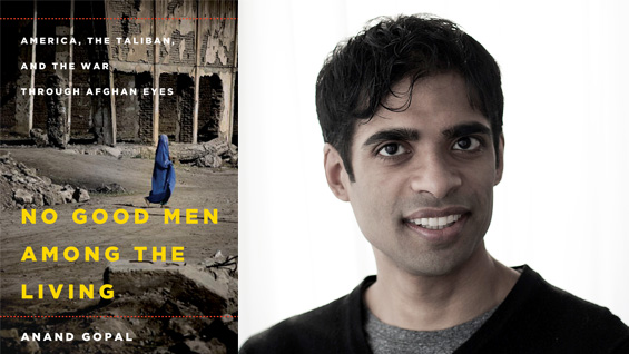 Anand Gopal. Author photo by Victor Blue