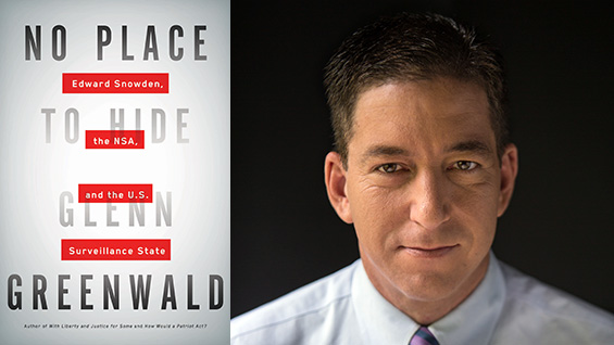 Photo of Glenn Greenwald by Jimmy Chalk