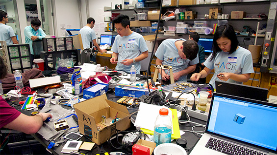 hackCooper participants hard at work. Photos by Peter Ascoli