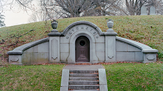 The Havemeyer Crypt at Green-Wood Cemetery