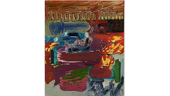'Speed' by Mauricio Higuera; oil on linen