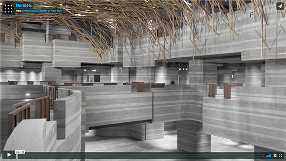 Neri & Hu presentation video documentation thanks to The Architectural League of New York.