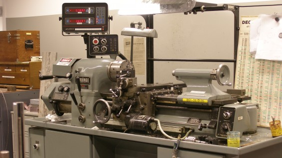Hardinge Turret Lathe with DRO