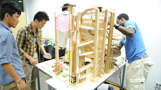 Industrial Design college now classes for high school students