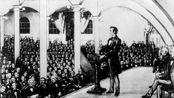 Lincoln's Cooper Union Address in 1860
