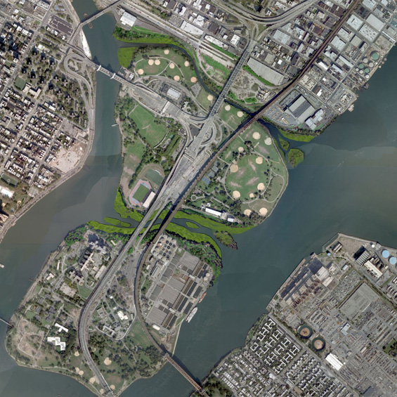 Grand River Flow >> Enhancement of New York Harbor Estuaries and Ecological Systems   The Cooper Union