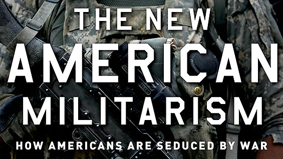 The New American Militarism book jacket detail