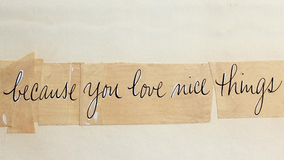 Because You Love Nice Things