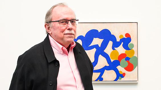 Thomas Nozkowski. Photograph courtesy of Pace Gallery