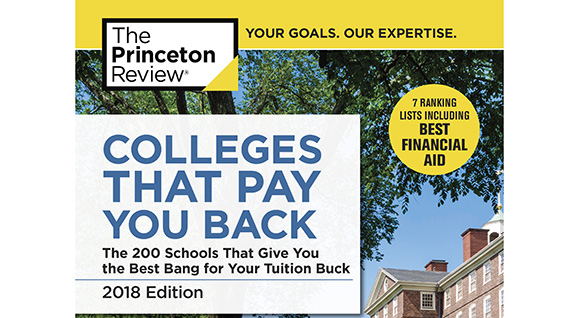 2018 Colleges That Pay You Back cover