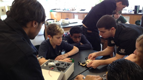 Building a fuel-cell-powered model car