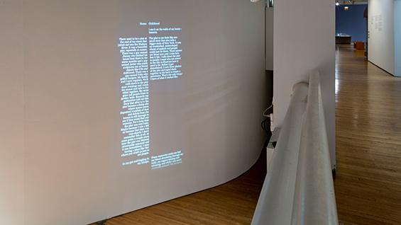 """Emilio Martinez Poppe. """"End Credits for the Places That Make Us."""" 2018. Courtesy of the Queens Museum. Photo by Hai Zhang."""