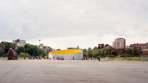OFFICE–Wall, Brussels, Belgium   photo: Bas Princen