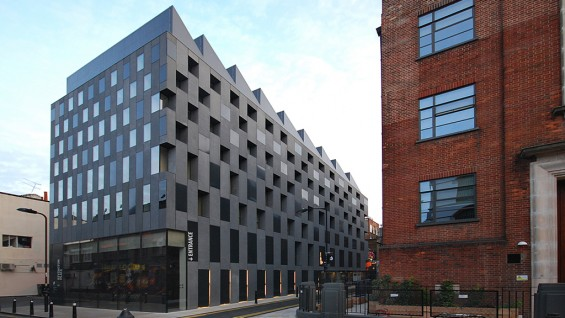 Adjaye Associates–Rivington Place, London, UK. | photo: Lyndon Douglas