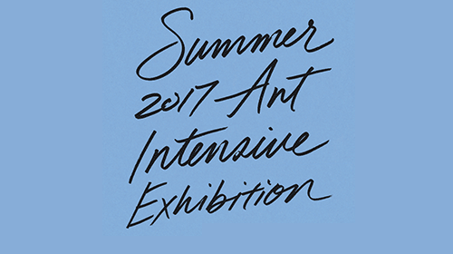 Summer Art Intensive Exhibition