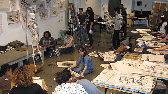 Saturday Program students