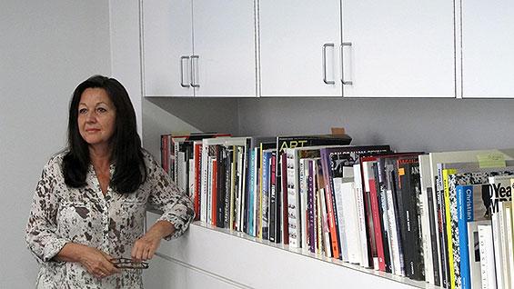 Saskia Bos in her office