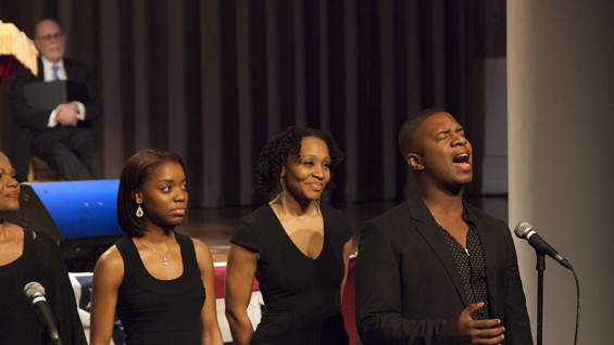 Classical Theater of Harlem choir members