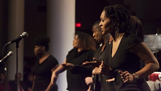Classical Theater of Harlem choir members