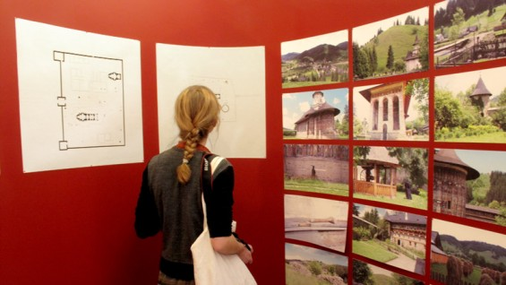 Installation view of Alexandra Alexa and Ben Johnson's 'Mnemonic Sites'
