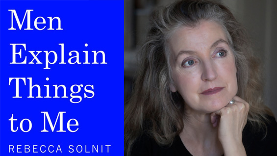 Rebecca Solnit photo by Adrian Mendoza