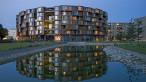 Architect: Lundgaard & Tranberg Architects. Tietgen Dormitory, Copenhagen, Denmark. Photo Credit: Jens Lindhe, 2006