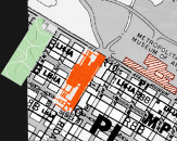 Comparative Scale with the Metropolitan Museum in the Manhattan Grid