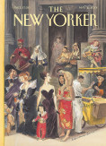 1. One of Edward Sorel's more than 30 New Yorker covers, this one from May 21, 2001